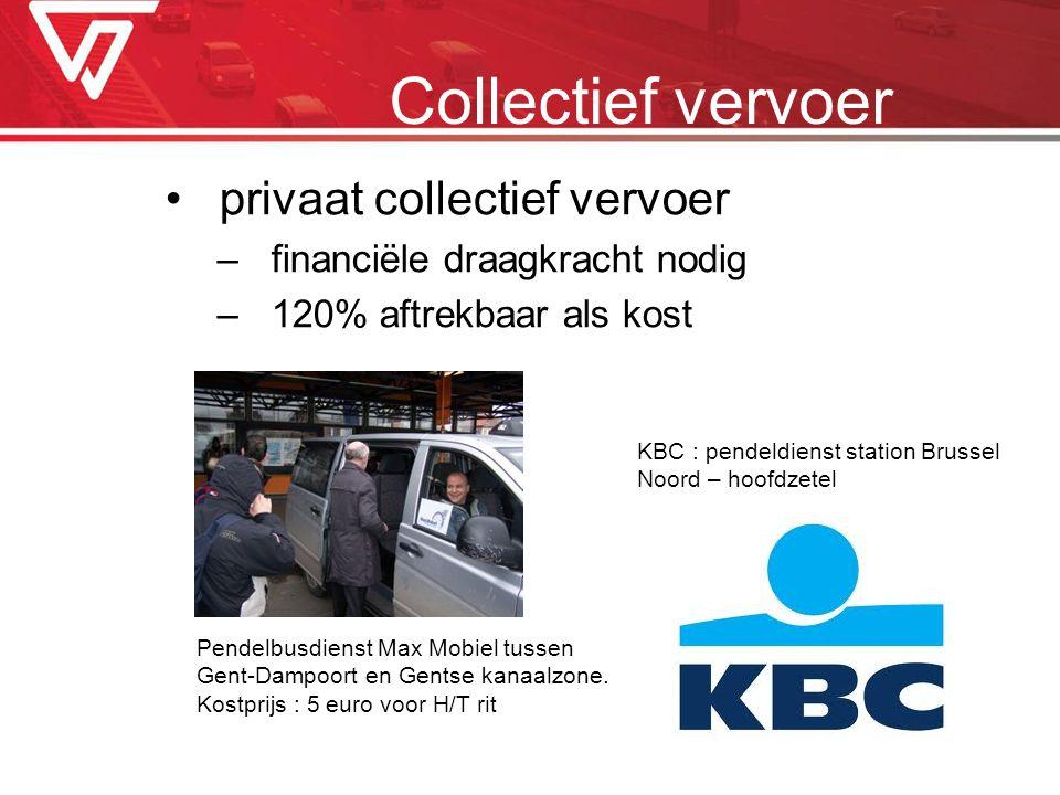 Collectief vervoer privaat collectief vervoer