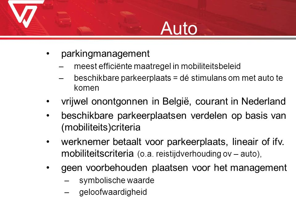 Auto parkingmanagement