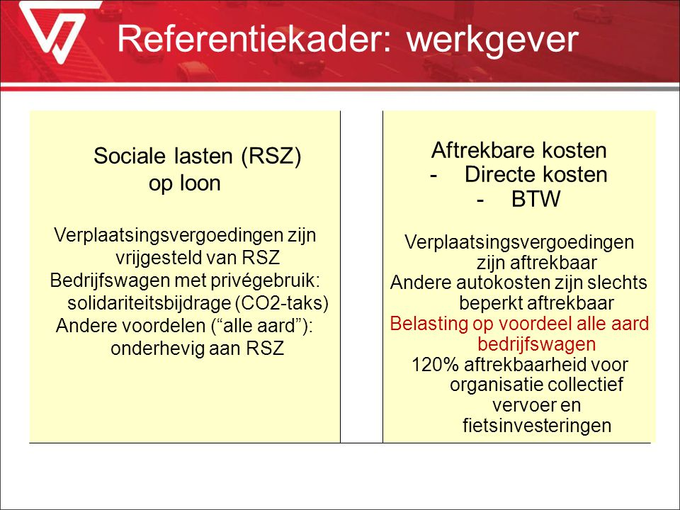 Referentiekader: werkgever