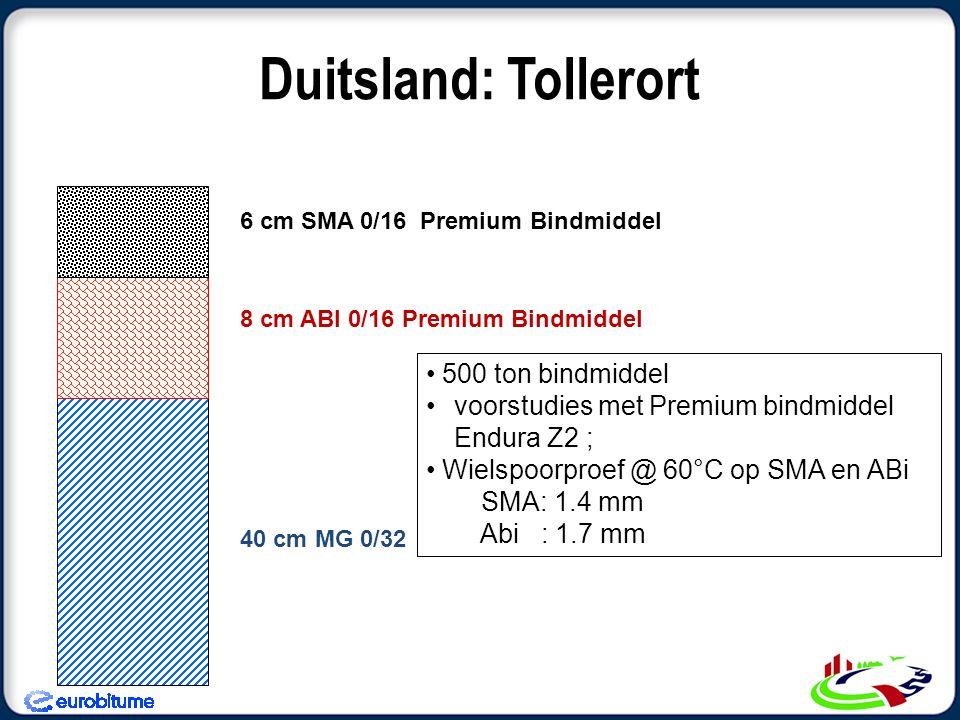 Duitsland: Tollerort 500 ton bindmiddel
