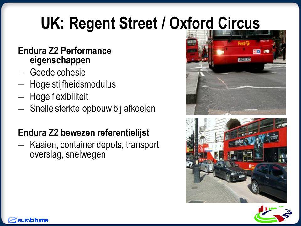 UK: Regent Street / Oxford Circus