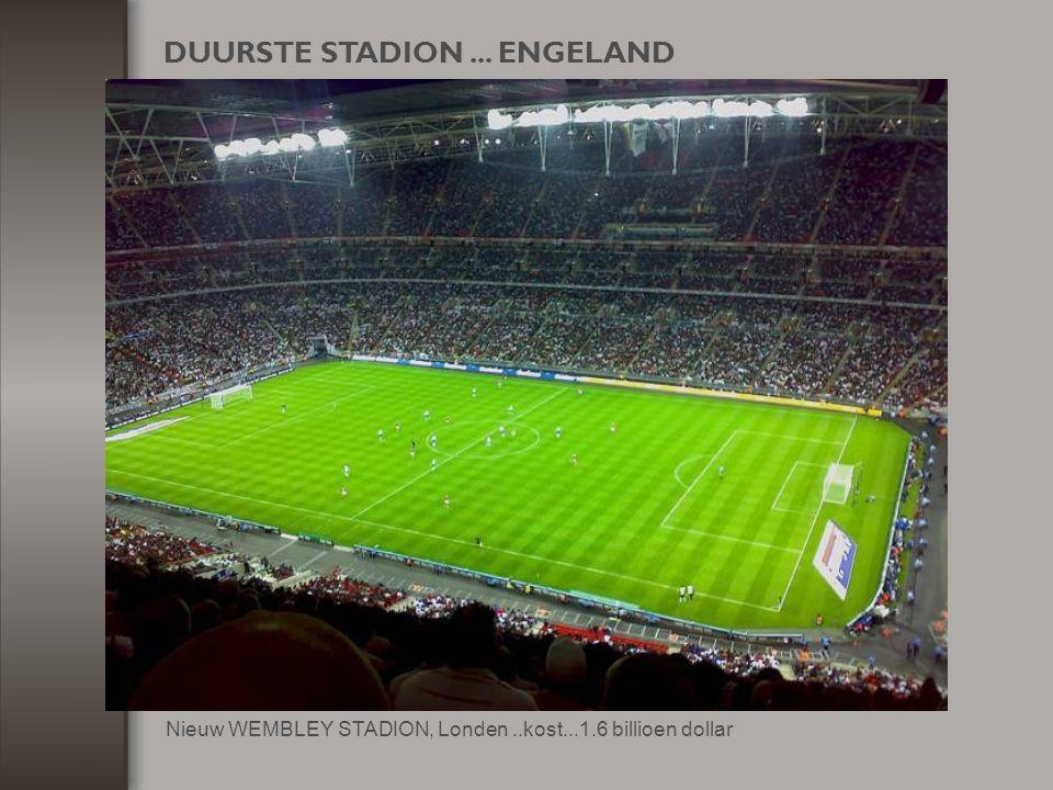 DUURSTE STADION ... ENGELAND