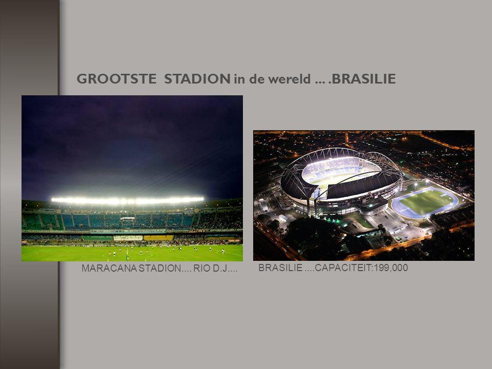 GROOTSTE STADION in de wereld ... .BRASILIE