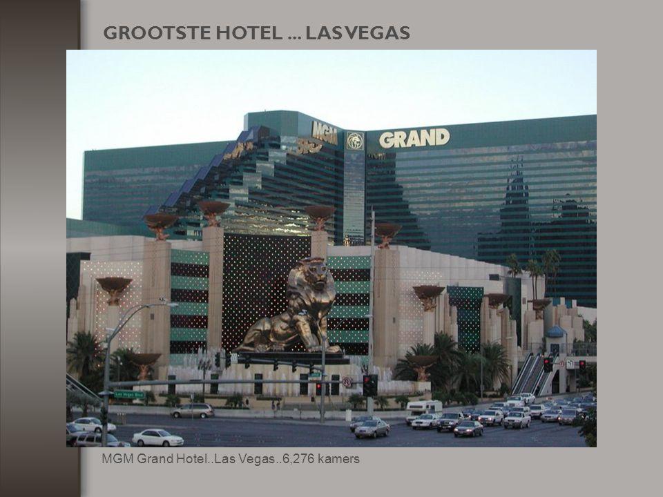 GROOTSTE HOTEL ... LAS VEGAS