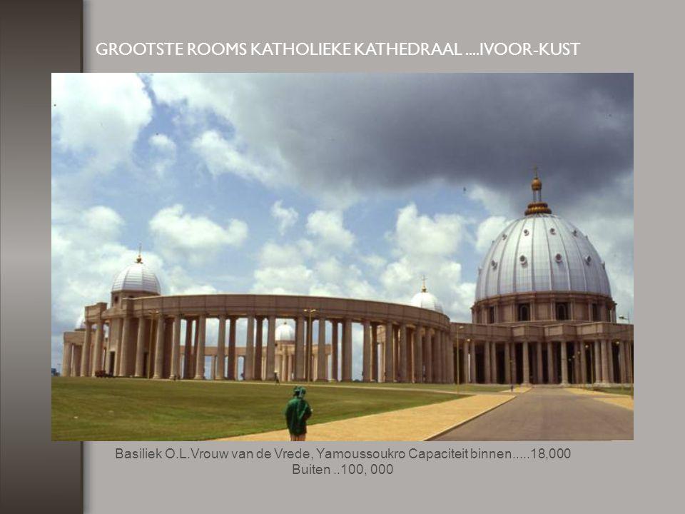GROOTSTE ROOMS KATHOLIEKE KATHEDRAAL ....IVOOR-KUST