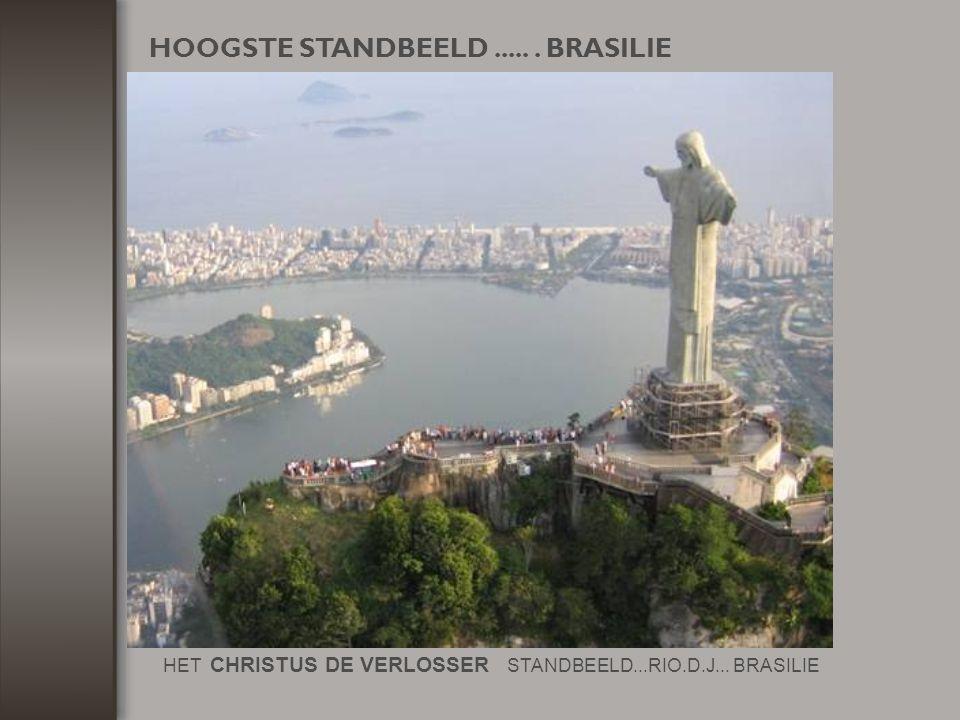 HOOGSTE STANDBEELD ..... . BRASILIE