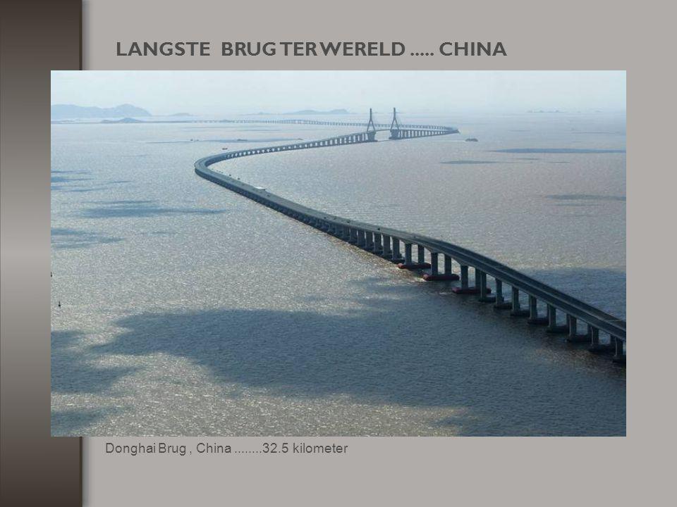 LANGSTE BRUG TER WERELD ..... CHINA