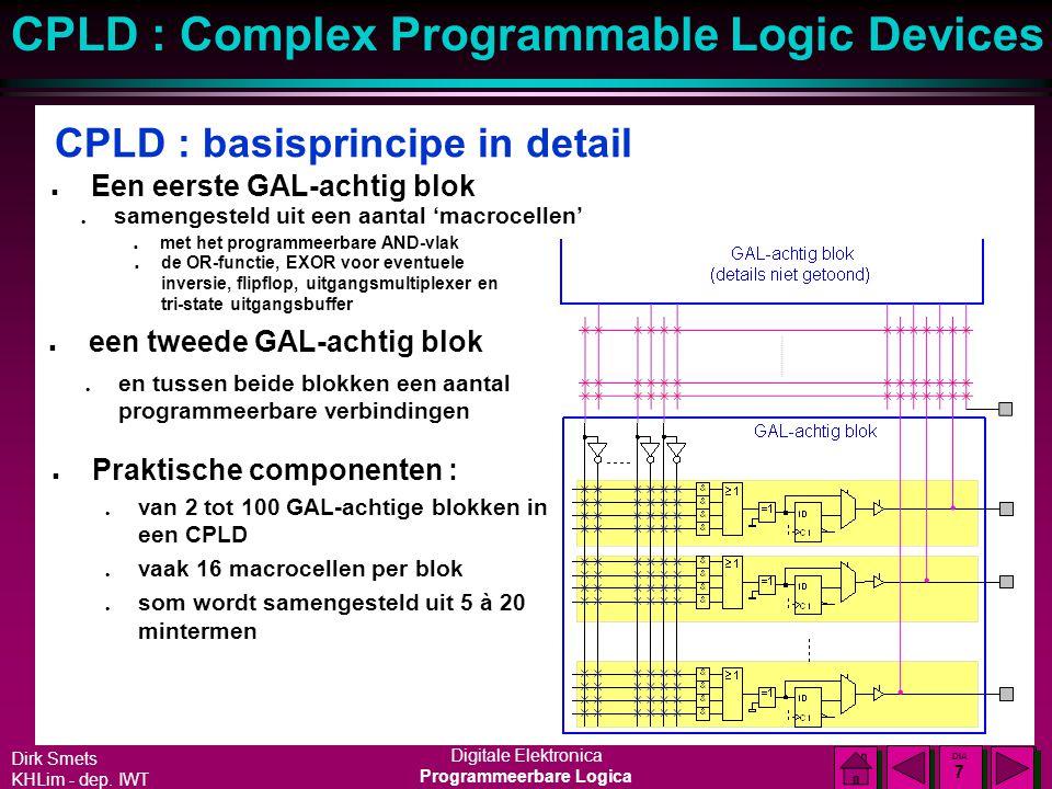 CPLD : basisprincipe in detail