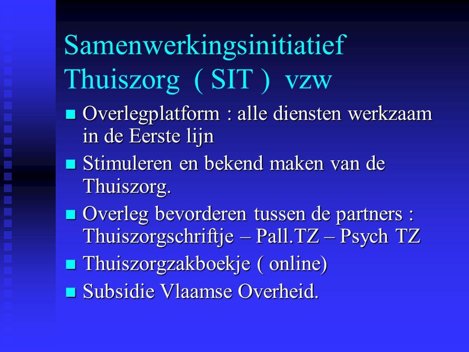 Samenwerkingsinitiatief Thuiszorg ( SIT ) vzw
