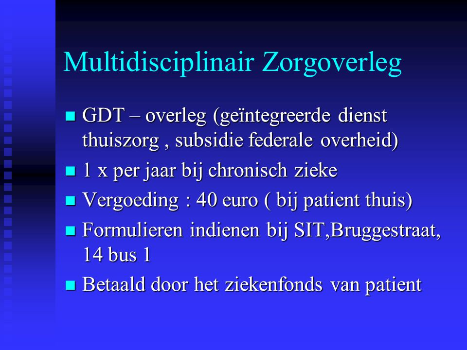 Multidisciplinair Zorgoverleg
