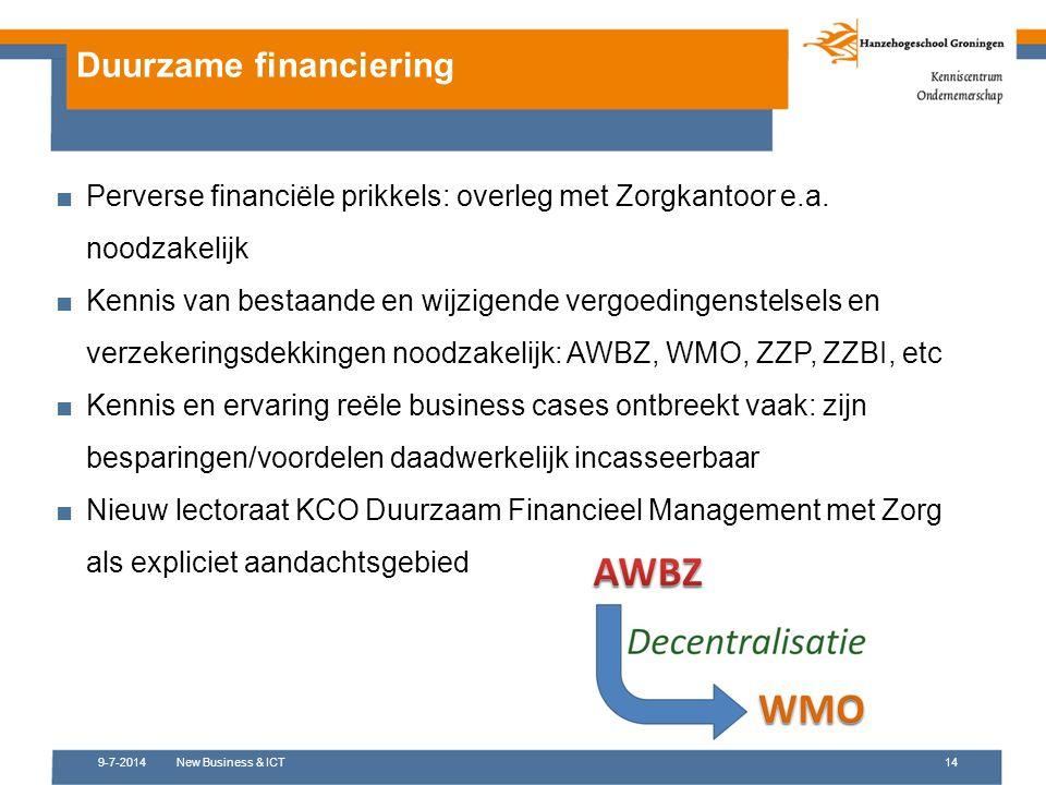 Duurzame financiering