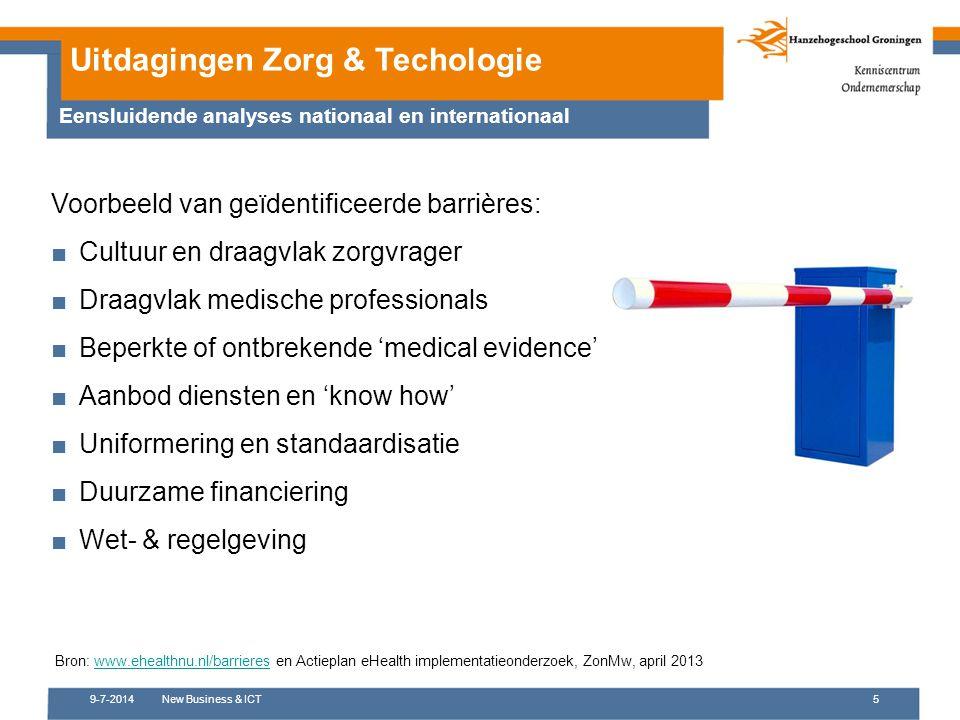 Uitdagingen Zorg & Techologie