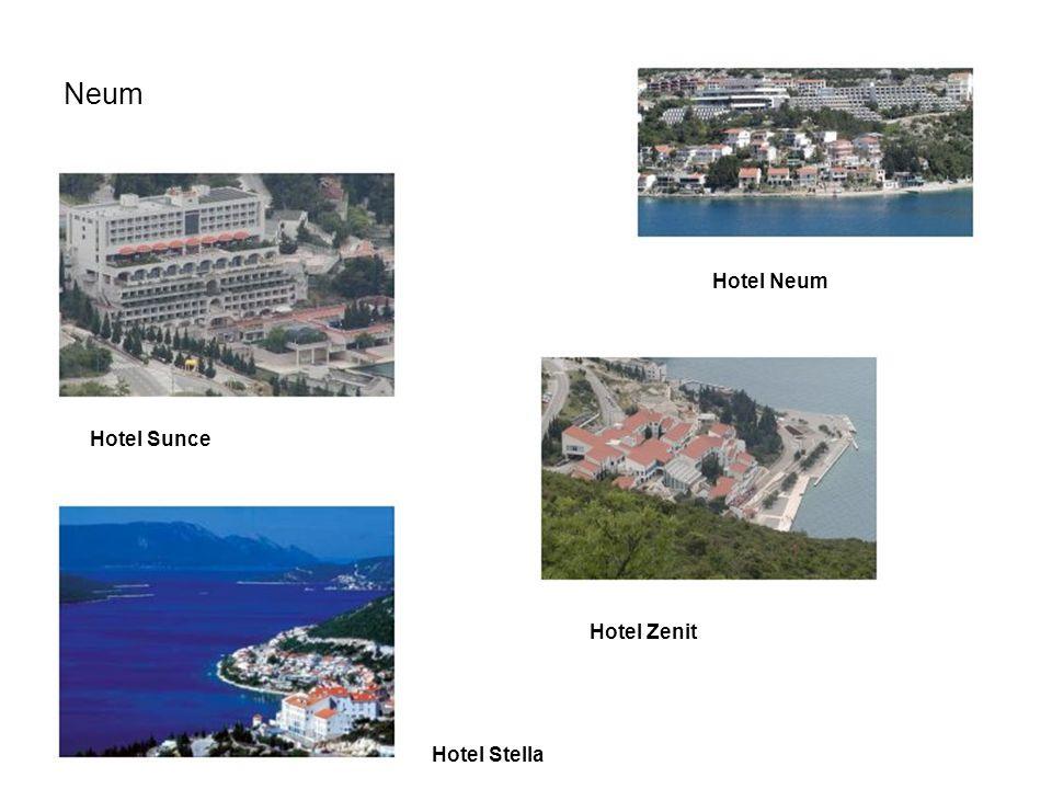 Neum Hotel Neum Hotel Sunce Hotel Zenit Hotel Stella