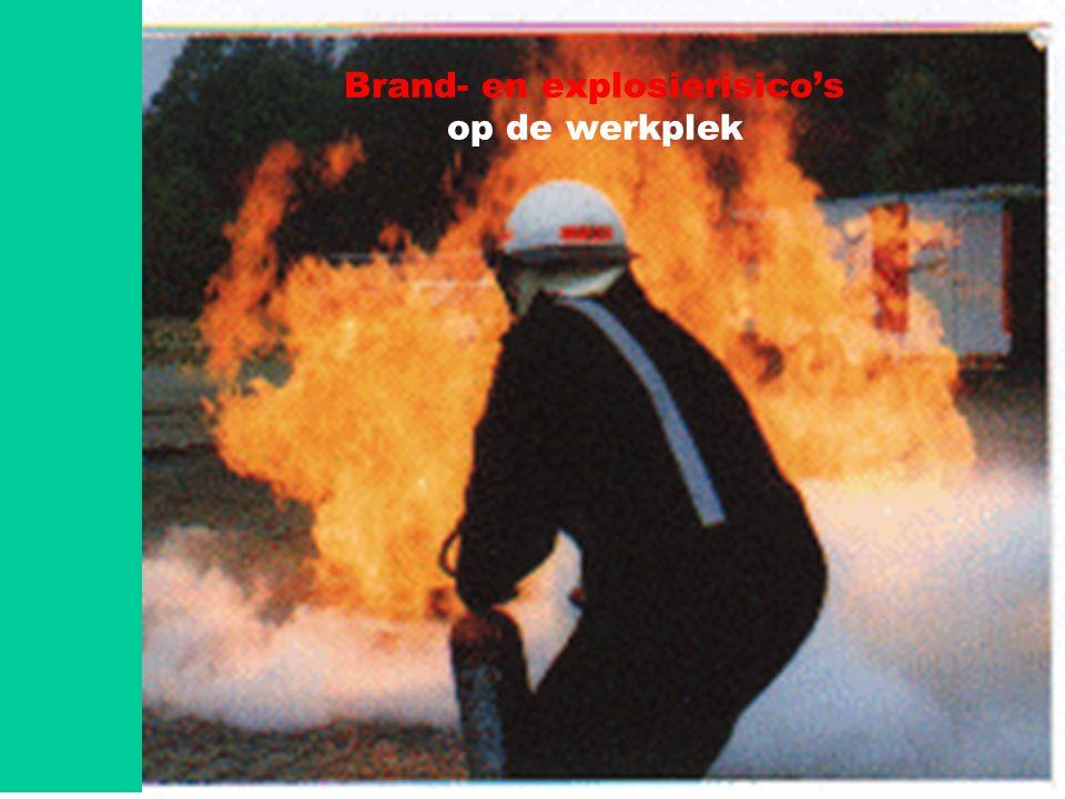 Brand- en explosierisico's op de werkplek