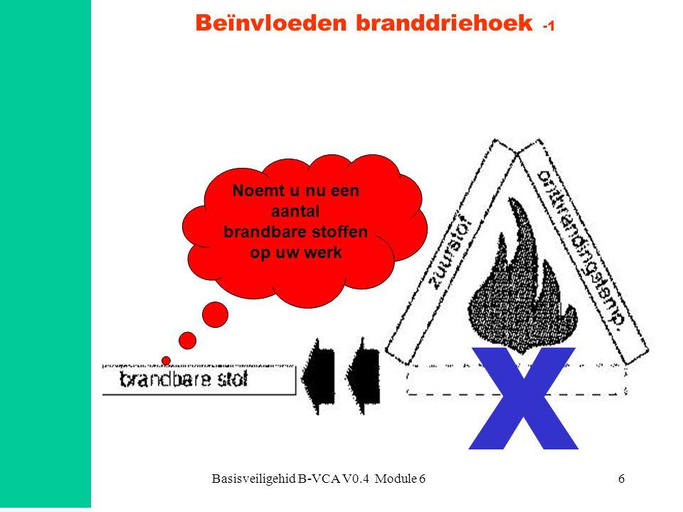 Beïnvloeden branddriehoek -1
