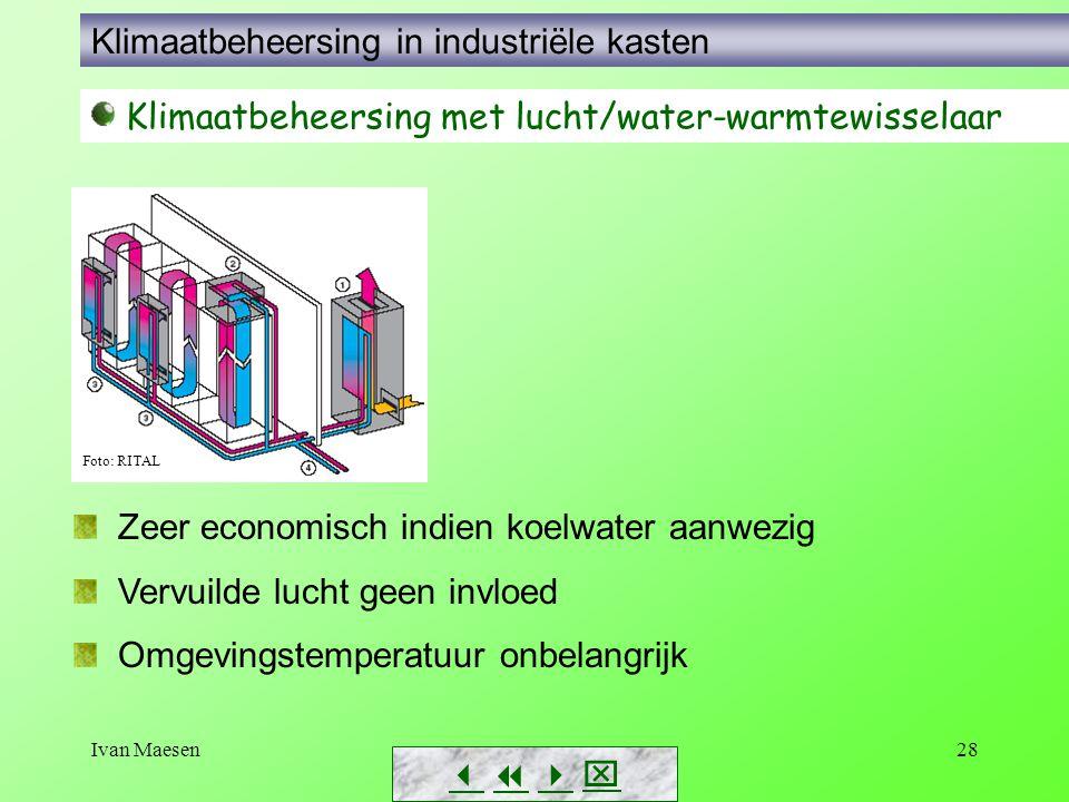 Klimaatbeheersing in industriële kasten