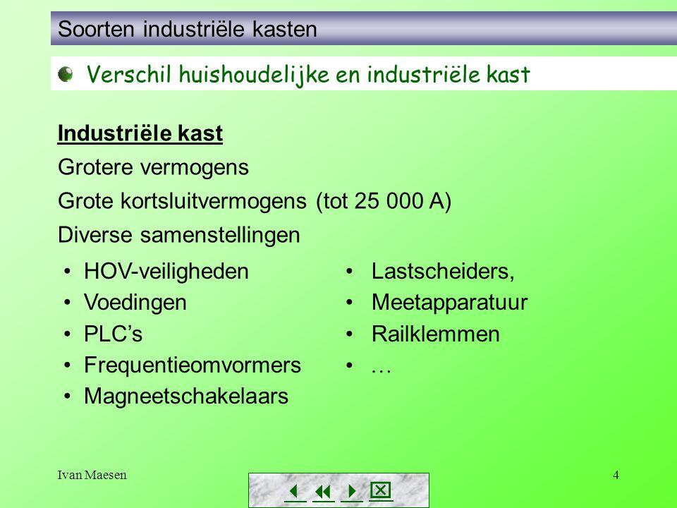 Soorten industriële kasten