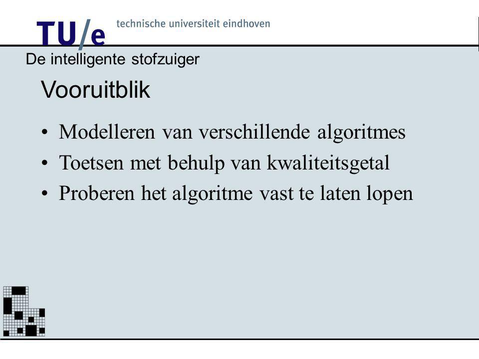 Vooruitblik Modelleren van verschillende algoritmes