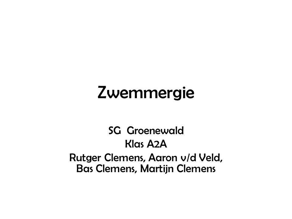 Rutger Clemens, Aaron v/d Veld, Bas Clemens, Martijn Clemens