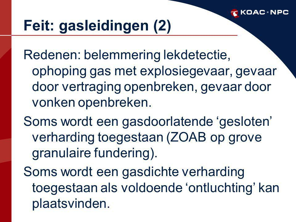 Feit: gasleidingen (2)