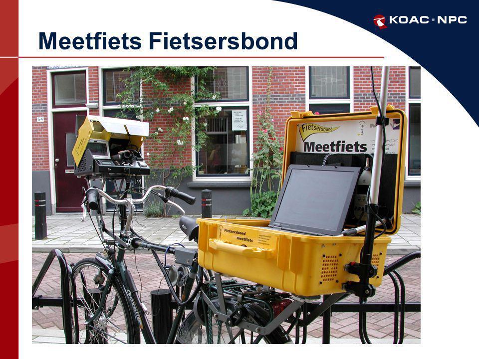Meetfiets Fietsersbond