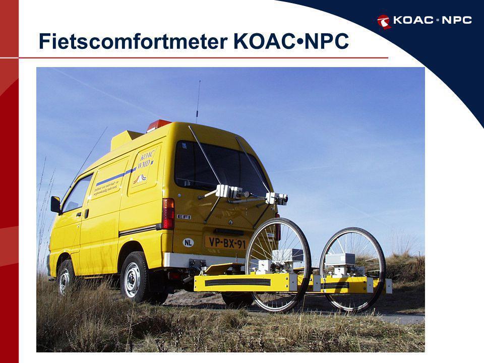 Fietscomfortmeter KOAC•NPC