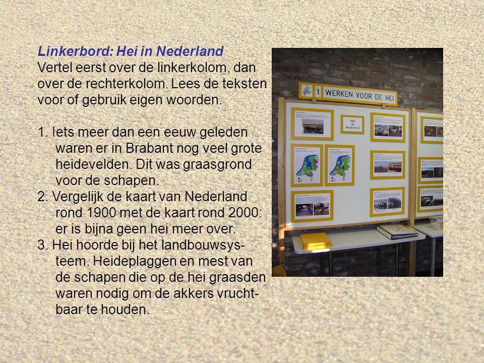 Linkerbord: Hei in Nederland