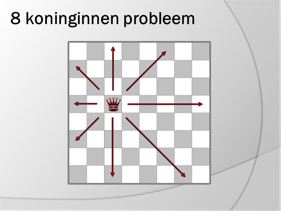 8 koninginnen probleem