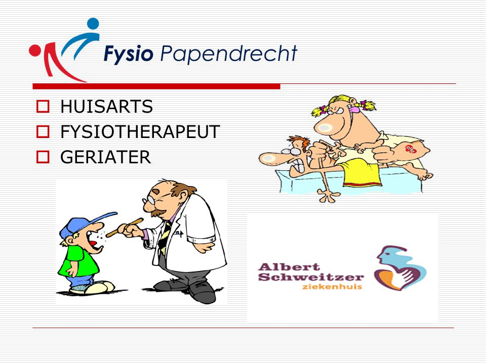 HUISARTS FYSIOTHERAPEUT GERIATER