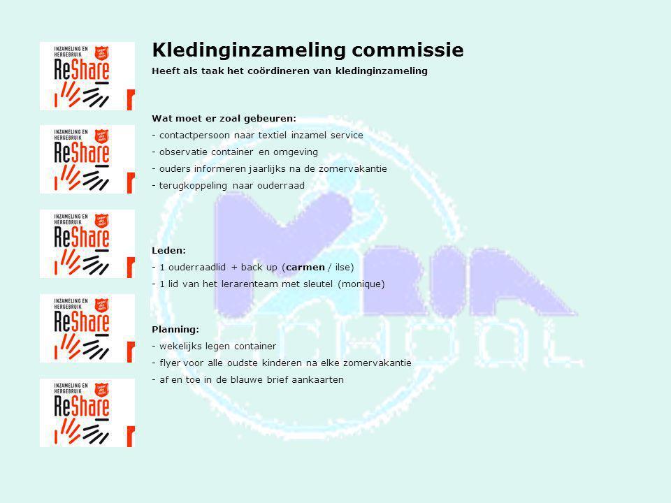 Kledinginzameling commissie