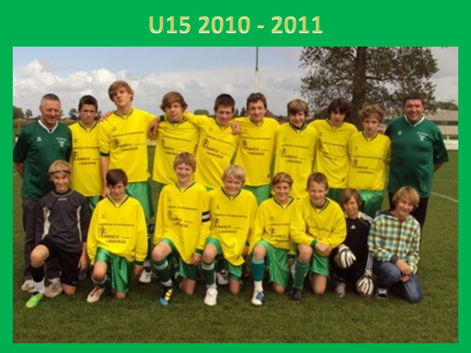 U15 2010 - 2011