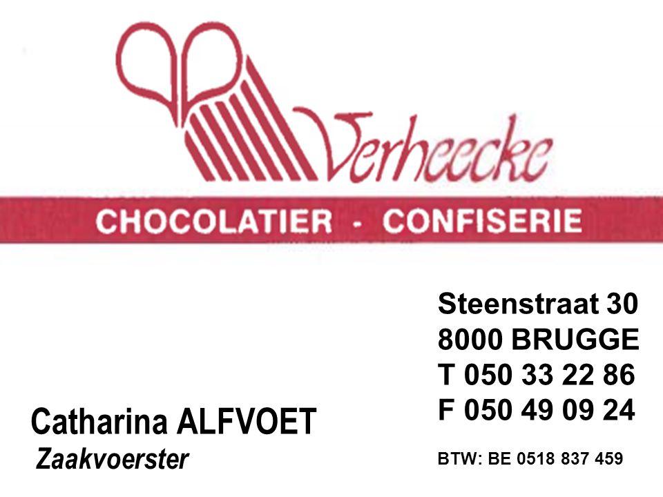 Catharina ALFVOET Steenstraat 30 8000 BRUGGE T 050 33 22 86