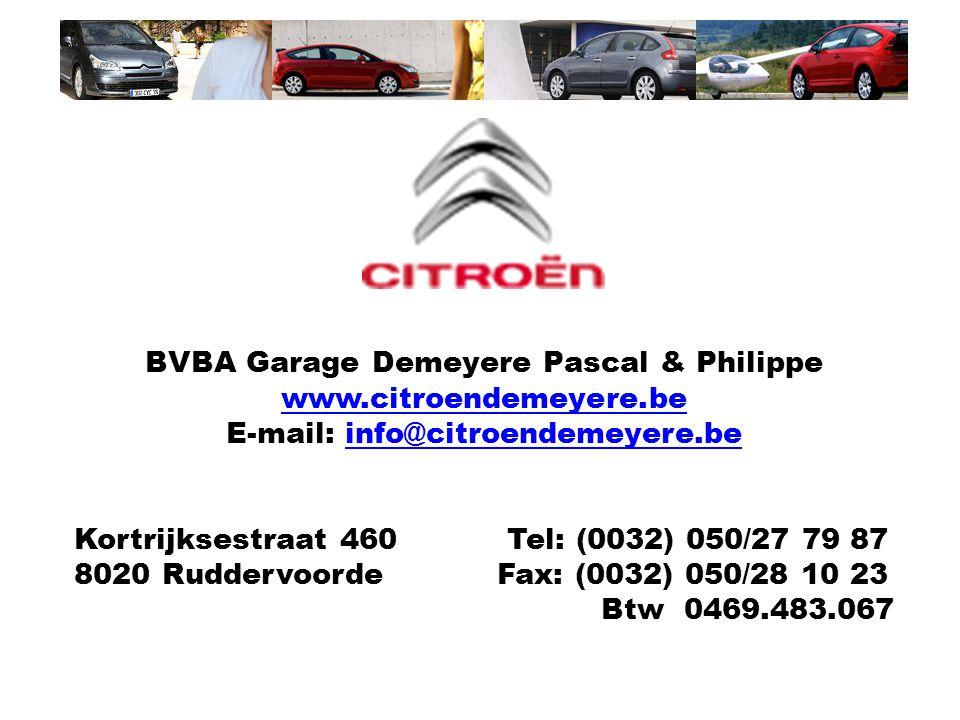 BVBA Garage Demeyere Pascal & Philippe www.citroendemeyere.be