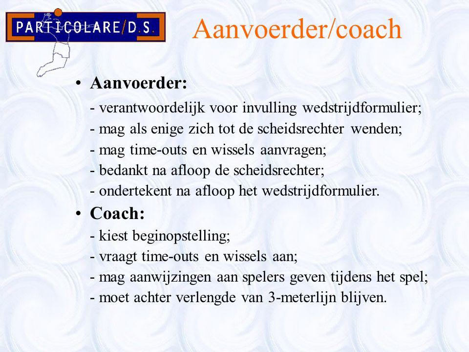 Aanvoerder/coach Aanvoerder: