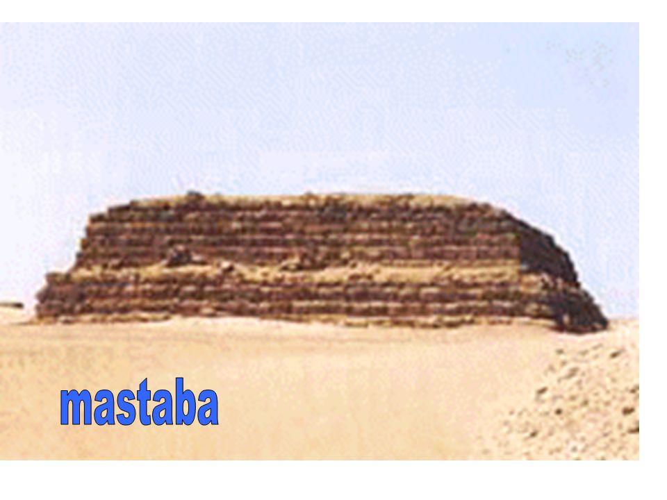 Egyptische bouwkunst mastaba