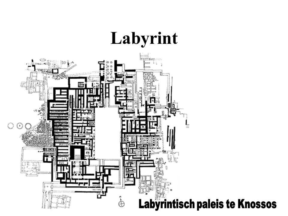 Labyrintisch paleis te Knossos