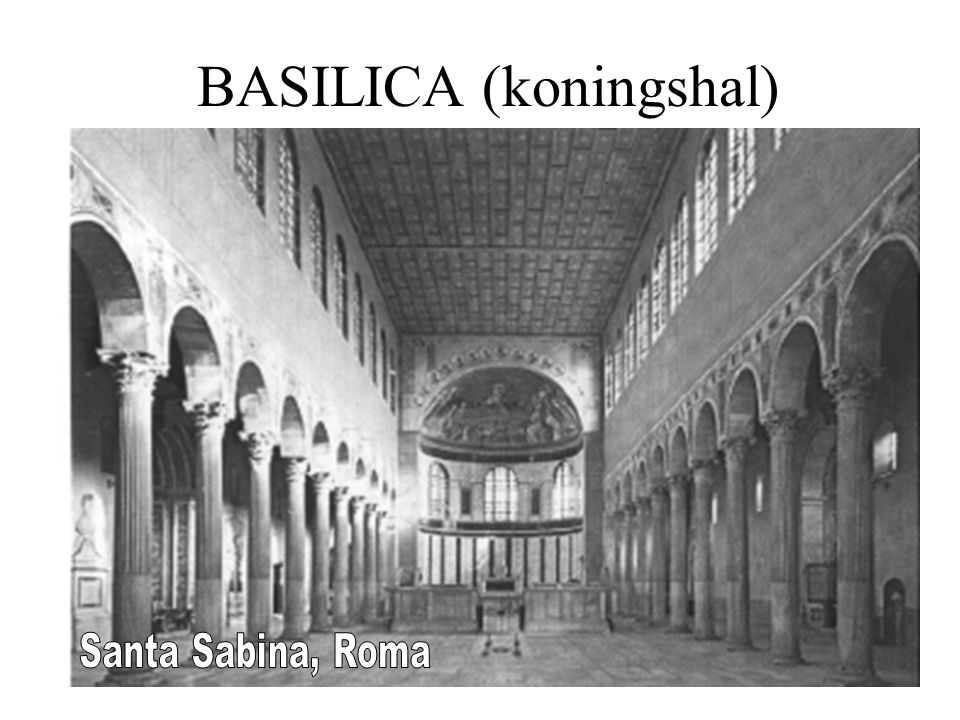 BASILICA (koningshal)