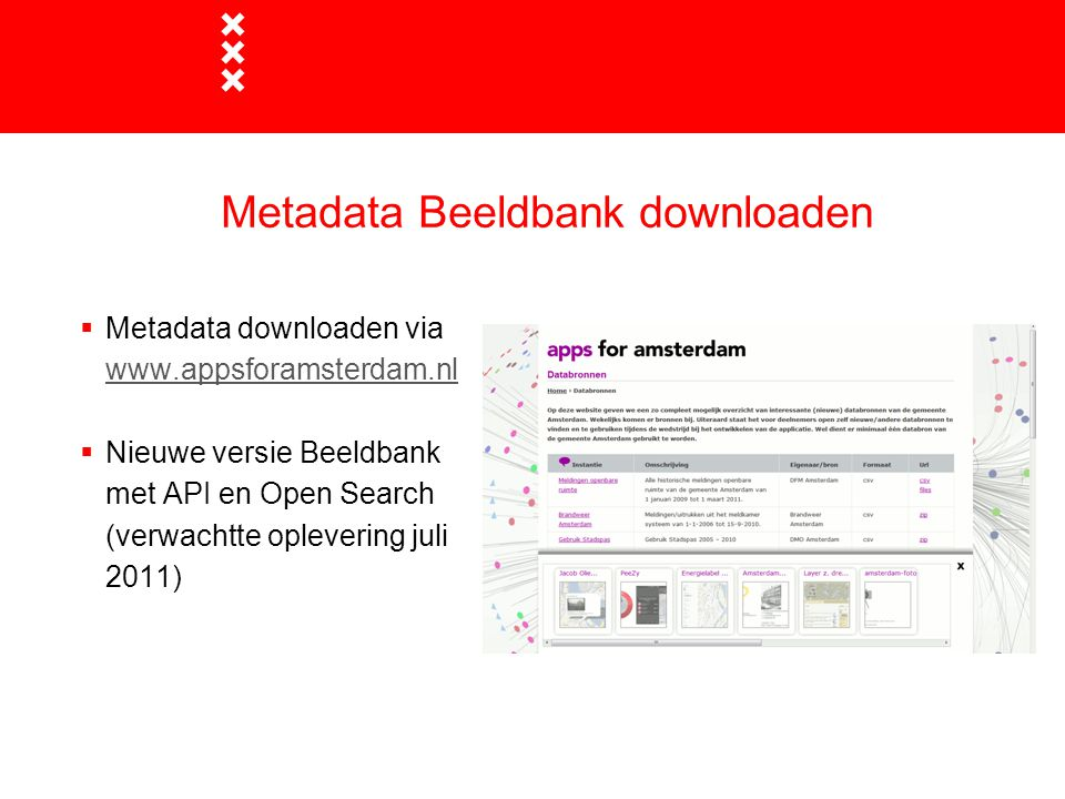 Metadata Beeldbank downloaden