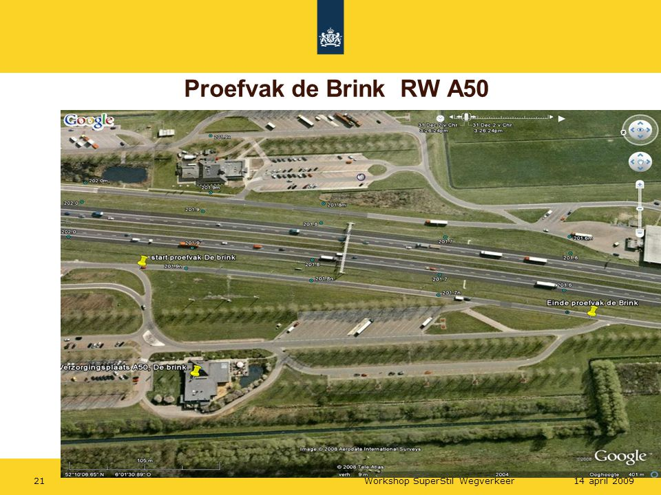 Proefvak de Brink RW A50 Workshop SuperStil Wegverkeer 14 april 2009