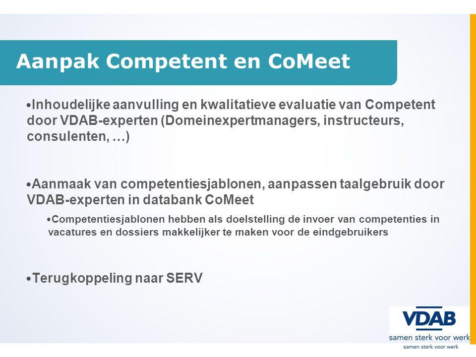 Aanpak Competent en CoMeet
