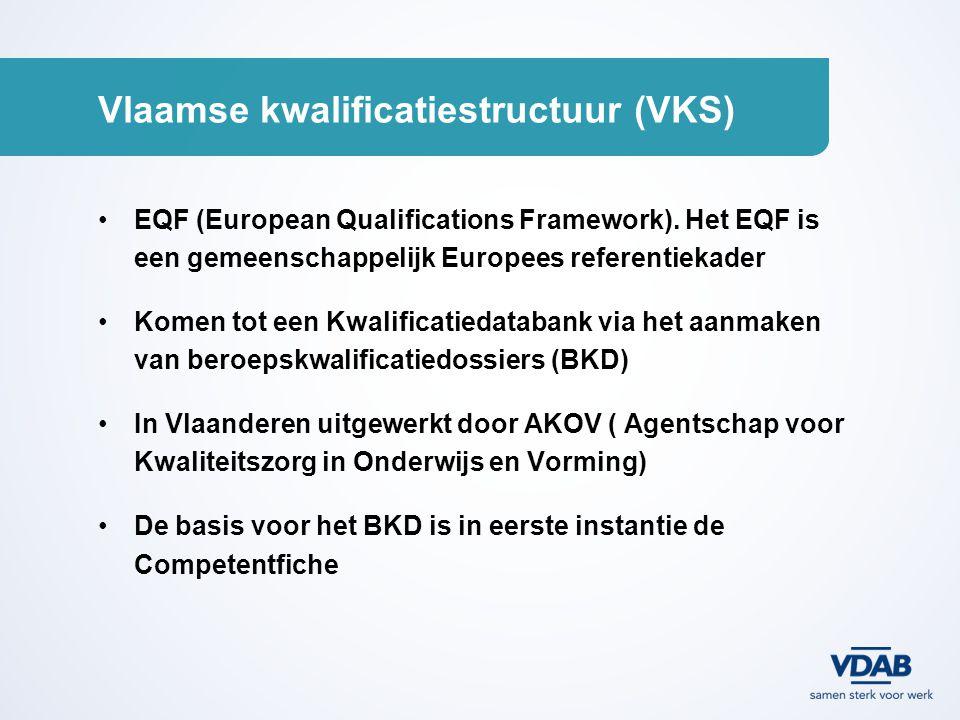 Vlaamse kwalificatiestructuur (VKS)