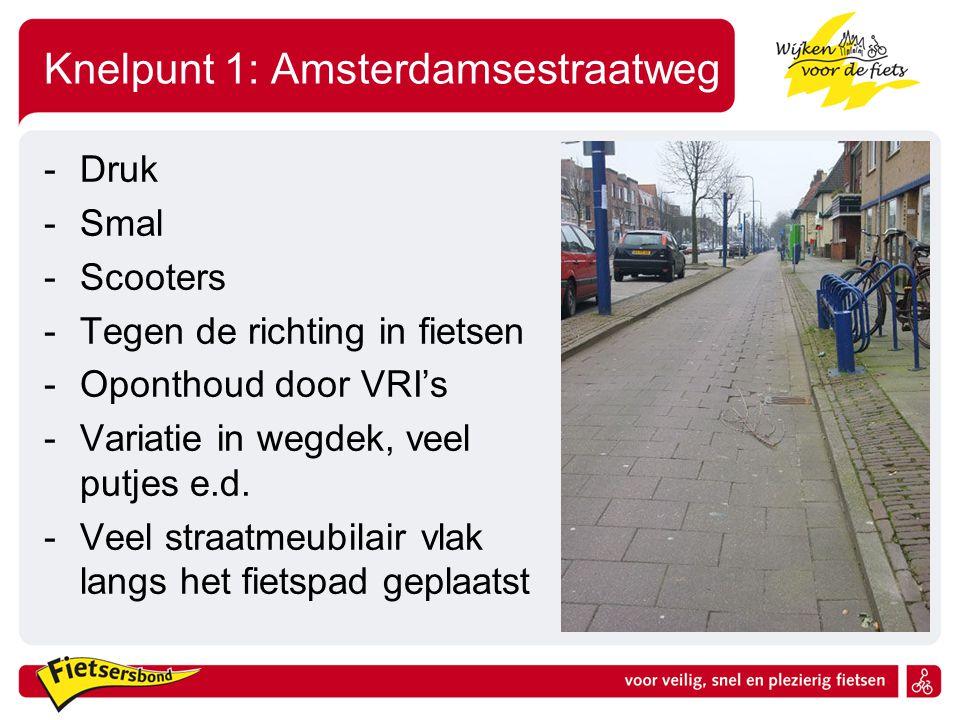 Knelpunt 1: Amsterdamsestraatweg