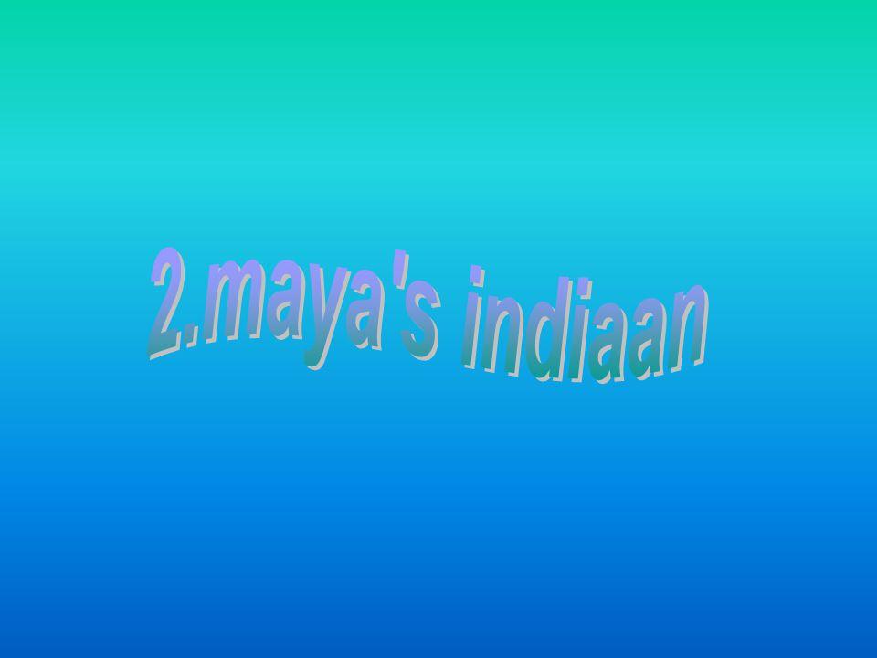 2.maya s indiaan