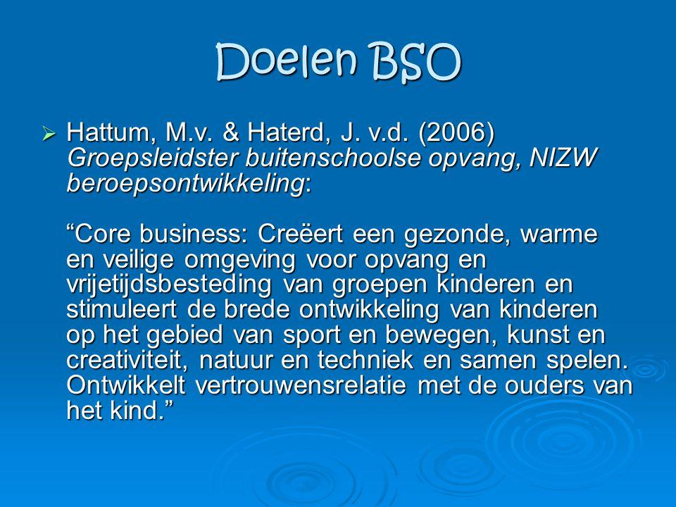 Doelen BSO