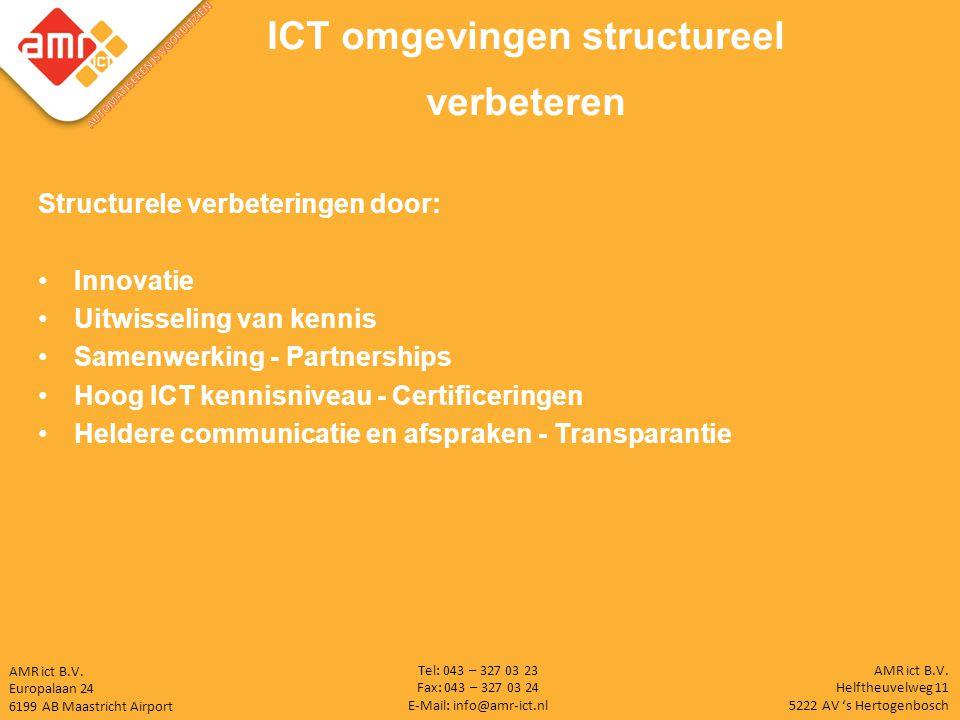 ICT omgevingen structureel verbeteren AUTOMATISEREN IS VOORUITZIEN