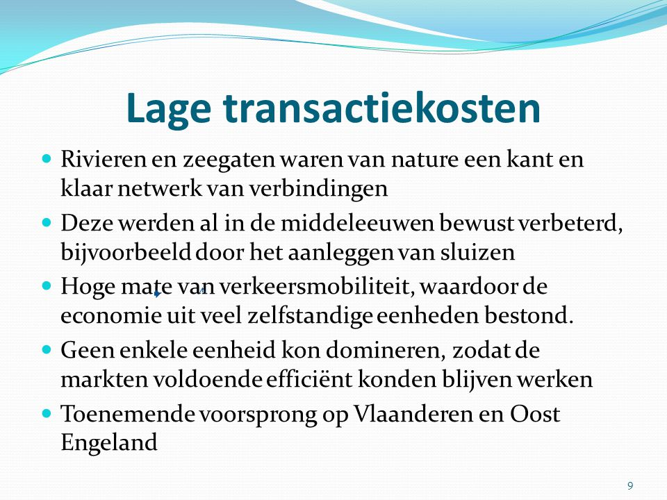 Lage transactiekosten