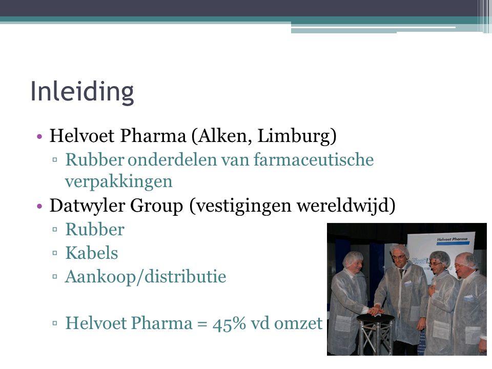 Inleiding Helvoet Pharma (Alken, Limburg)