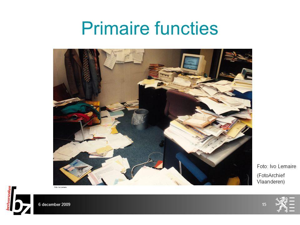 Primaire functies Foto: Ivo Lemaire (FotoArchief Vlaanderen)