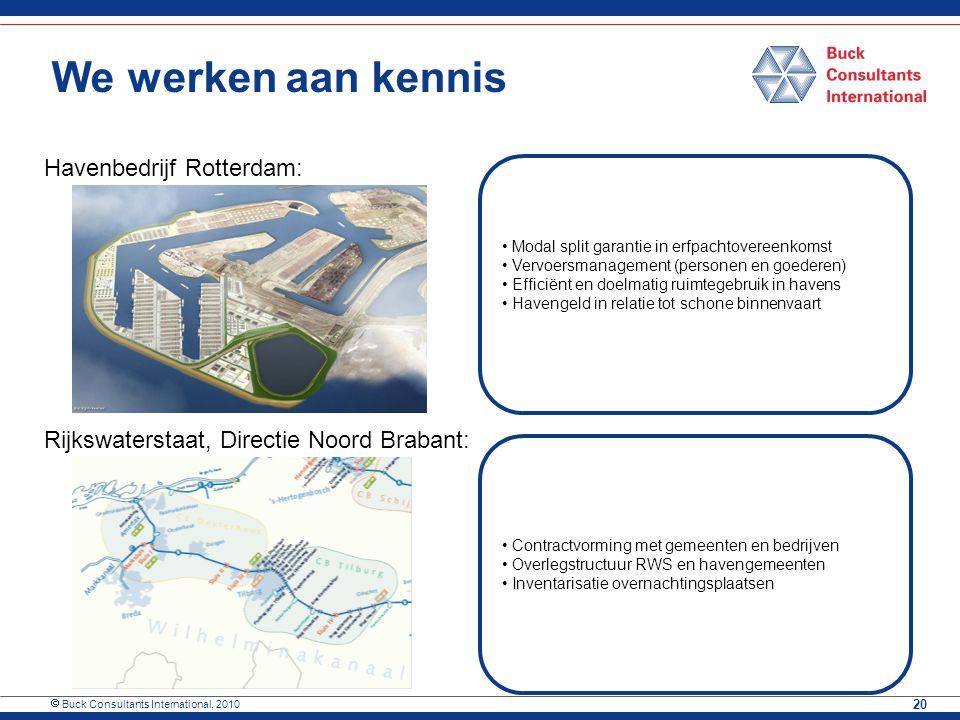 We werken aan kennis Drechtsteden/Havenbedrijf Dordrecht: