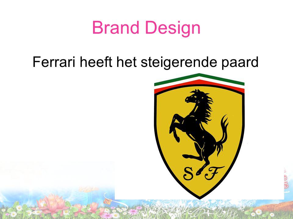 Brand Design Ferrari heeft het steigerende paard